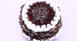 Double Chocolate Black Forest Cake Recipe | Dawat