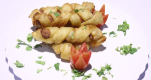 Twisted Sausages Recipe | Dawat