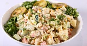 Yogurt Salad Recipe | Tarka
