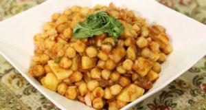 Aloo Channa Chaat Recipe | Food Diaries