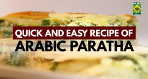 Arabic Paratha | Quick & Easy Recipe