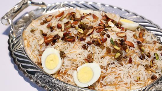 Arabic Rice Recipe   Lazzat
