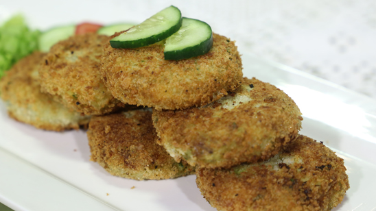 Chicken Malai Cutlets Recipe | Lazzat