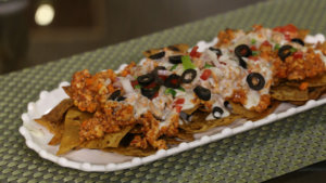 Cheesy Nachos Chaat Recipe | Flame On Hai