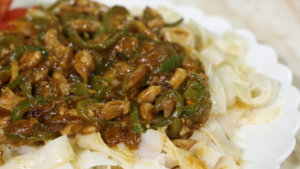 Chicken Stir Fry With Rice Noodles Recipe | Dawat