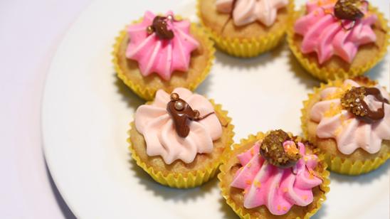 Colorful Coconut Cupcakes Recipe   Food Diaries