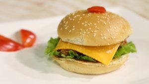 Crispy Chicken Burger Recipe | Lazzat