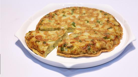 Egg And Sausage Frittata Recipe | Lazzat