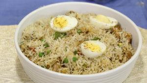 Fried Chicken Rice Recipe | Tarka