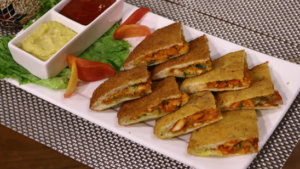 Fried Shawarma Pockets Recipe | Flame On Hai