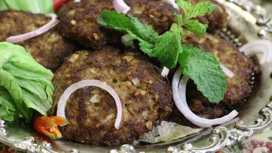 Galawati Beef Kabab Recipe   Tarka