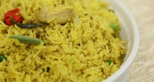 Garlic Butter Rice Recipe | Tarka