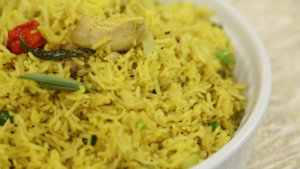 Garlic Butter Rice Recipe | Tarka
