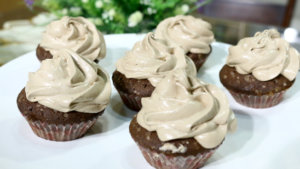 Hazelnut Cupcakes Recipe | Flame On Hai