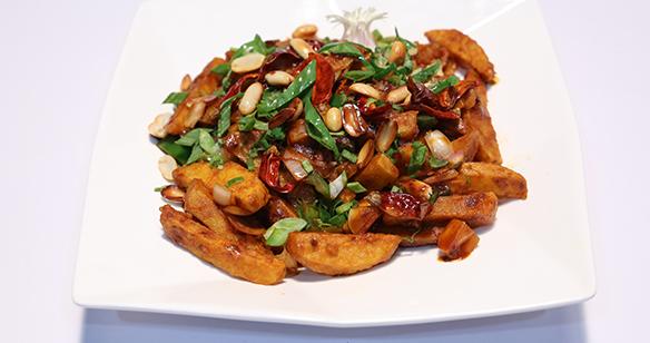 Kung Pao Potato Recipe | Lazzat