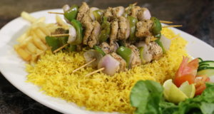 Lemon Chicken with Saffron Rice Recipe | Masala Mornings