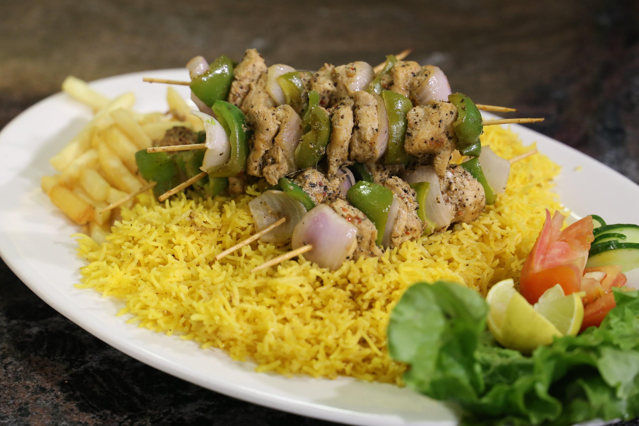 Lemon Chicken with Saffron Rice Recipe   Masala Mornings