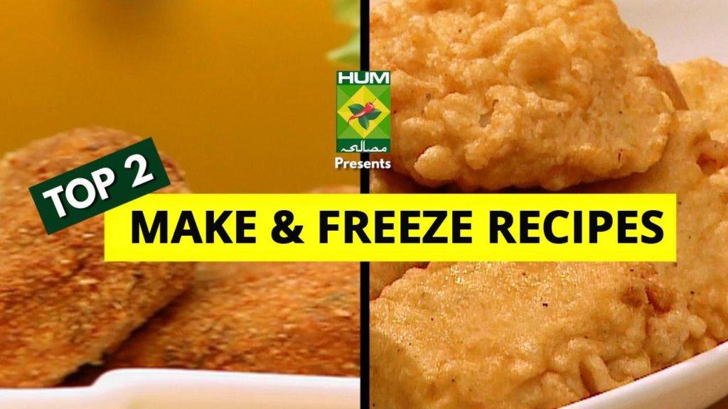 Top 2 Make & Freeze Recipes