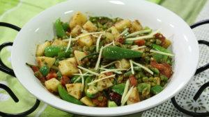 Mix Vegetable Karahi Recipe | Lazzat