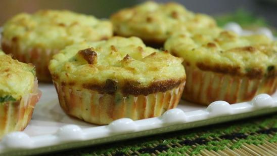 Potato Muffins Recipe | Flame On Hai