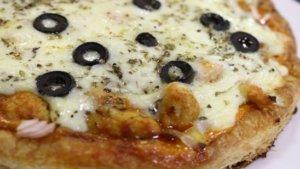 Puff Pastry Pizza Recipe   Masala Mornings
