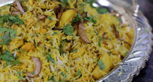 Chicken Qeema Biryani Recipe | Tarka