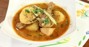 Sada Aalu Korma Recipe | Tarka