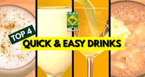 Top 4 Quick & Easy Drinks | Quick Recipes
