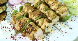Turkish Chicken Sheesh Recipe | Lazzat