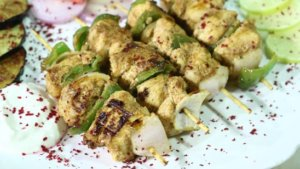 Turkish Chicken Sheesh Recipe | Lazzat