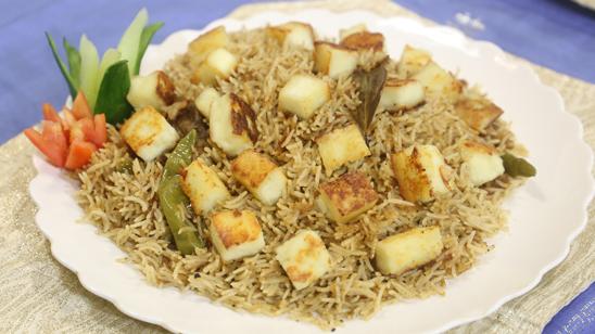 Paneer Yakhni Pulao Recipe | Dawat