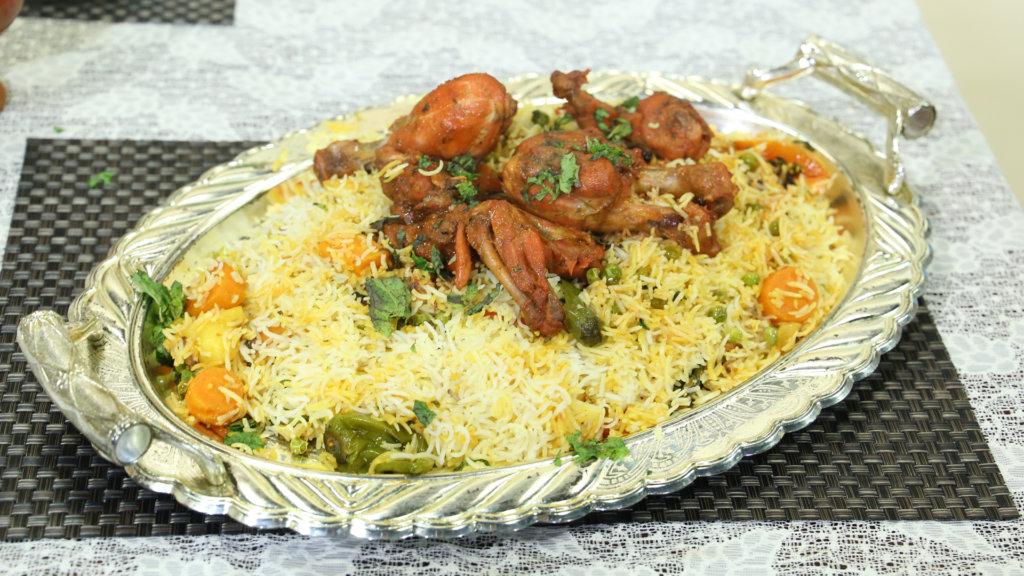 Banarasi Tandoori Biryani Recipe   Tarka