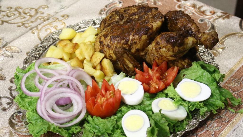 Barbeque Masala Roast Recipe   Lazzat