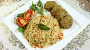 Barbeque Rice Recipe | Flame On Hai