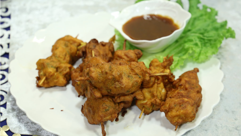 Chicken Pakora on Skewers Recipe | Masala Mornings