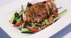 Chicken Shawarma Salad Recipe | Lazzat
