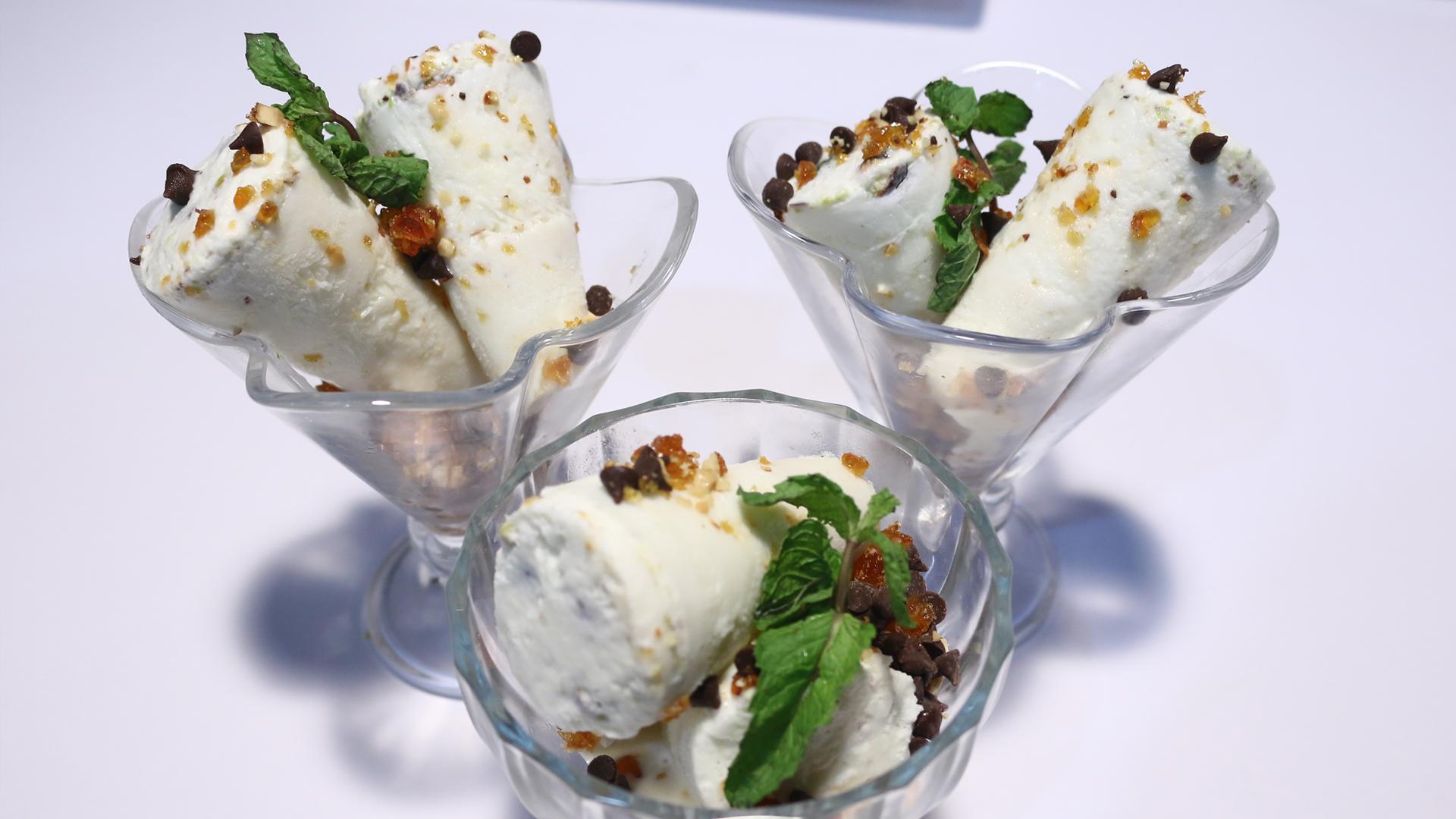 Chocolate Crunch Kulfi Recipe   Rida Aftab