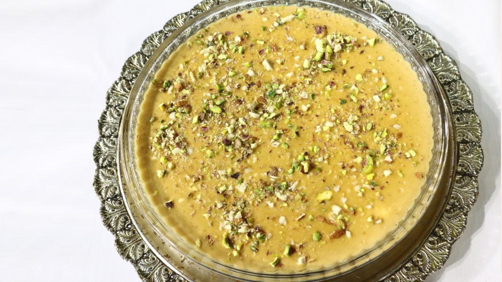Creamy Caramel Kheer Recipe   Lazzat
