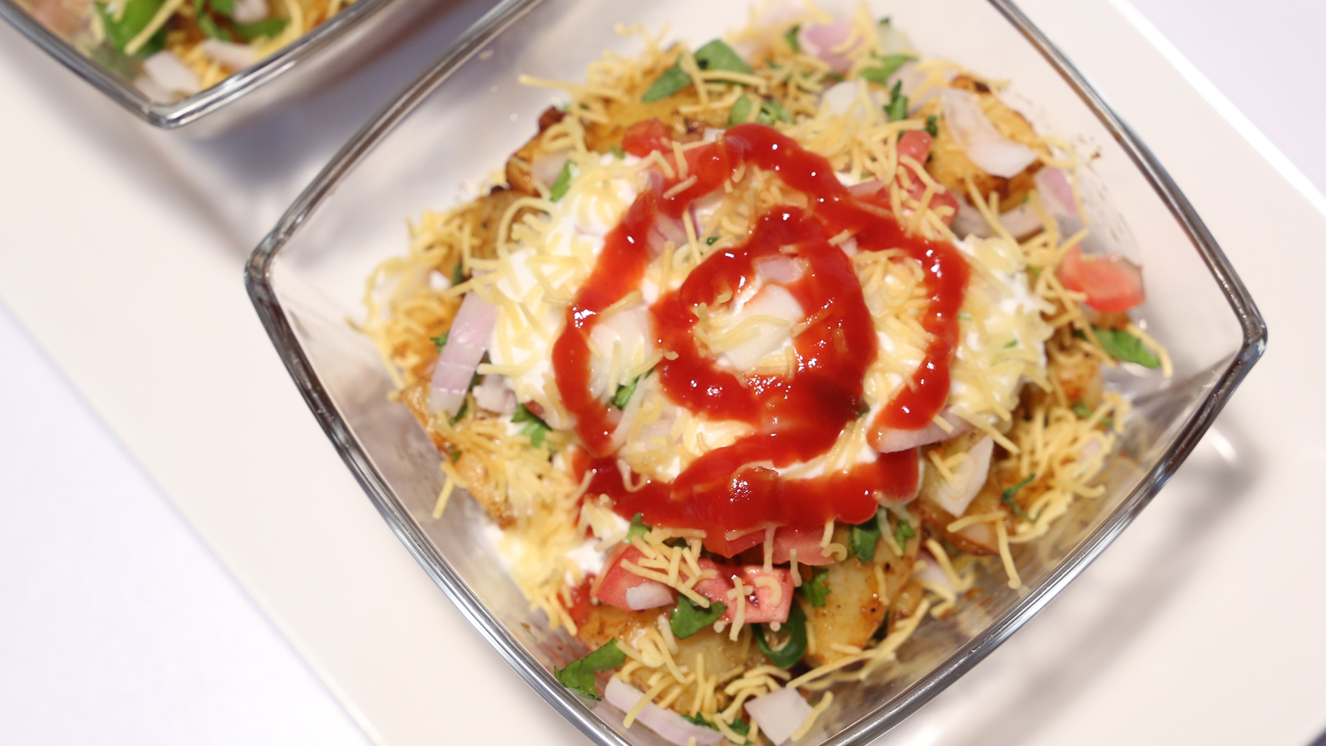 Fried Aalu Chaat Recipe | Lazzat