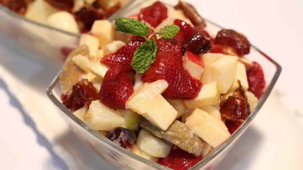Frozen Fruit Chaat Recipe | Tarka