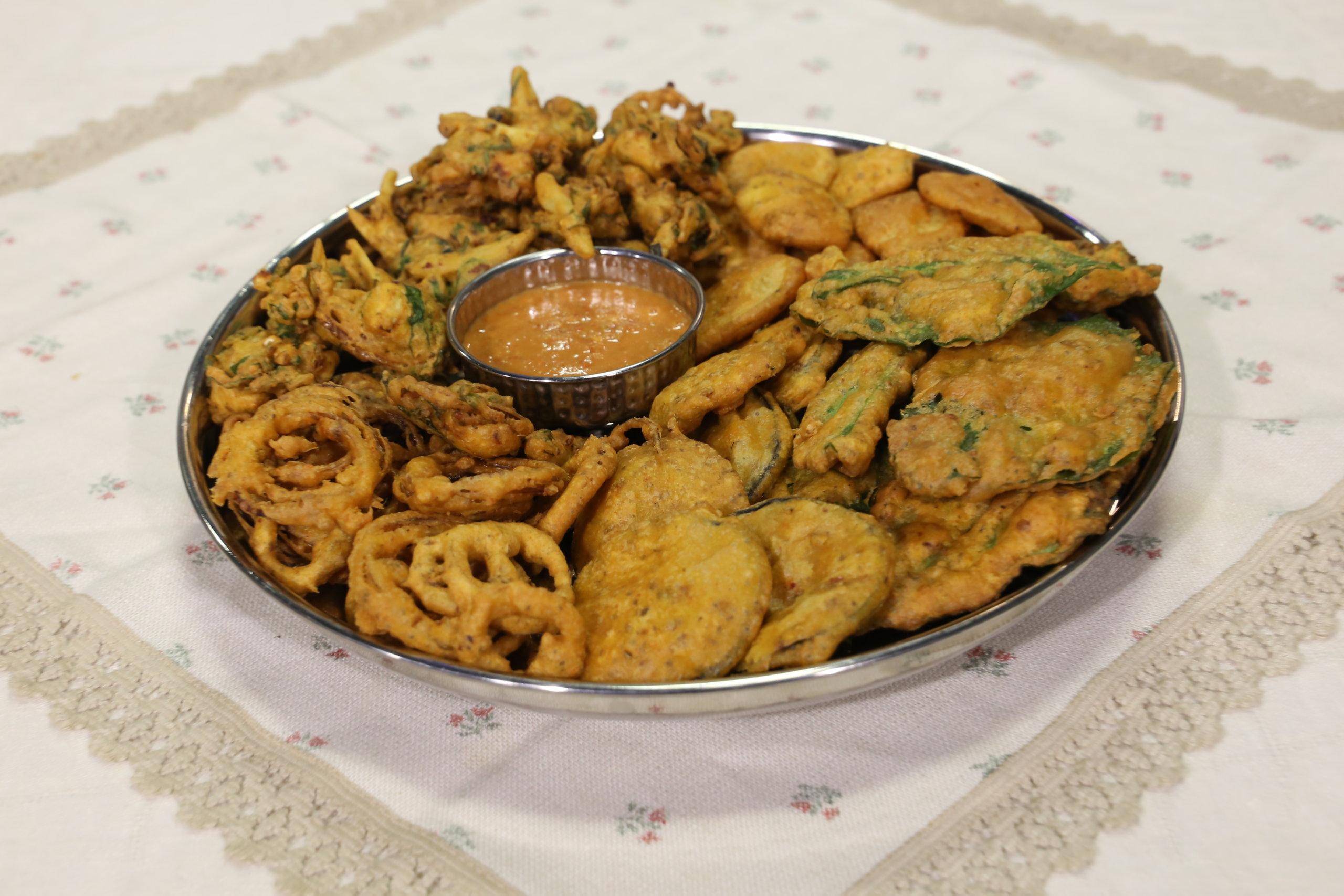 Pakora Thali | Quick Recipes