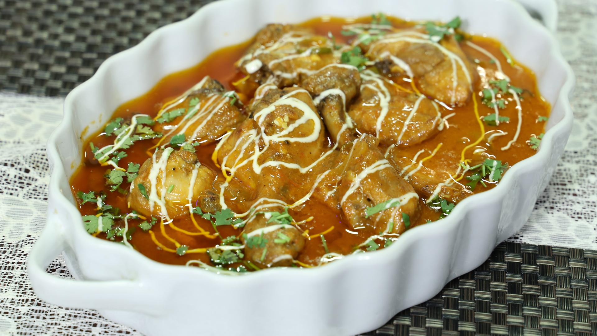 Khatti Meethi Chicken Recipe | Dawat