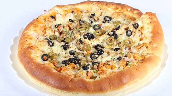 Mozzarella Stuffed Pizza | Quick Recipes