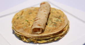 Omelette Paratha Recipe | Lazzat