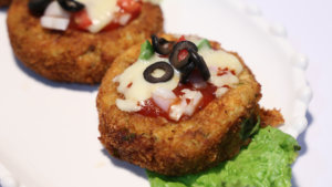 Pizza Cutlets Recipe   Tarka