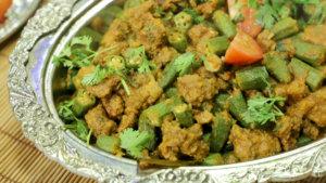 Qeema Bindhi Recipe | Tarka