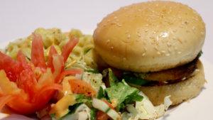 Salad Burger Recipe | Rida Aftab