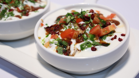 Smoky Dahi Bara Chaat Recipe | Lazzat
