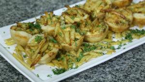 Chicken and Fries Mini Pie Recipe | Dawat