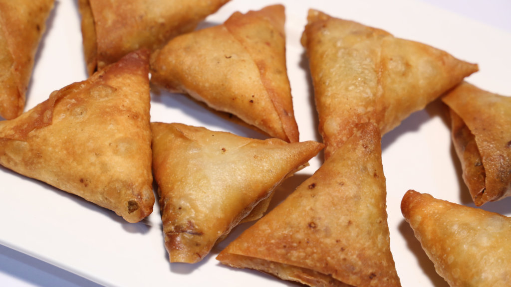 Macaroni Chicken Samosa Recipe   Masala Mornings